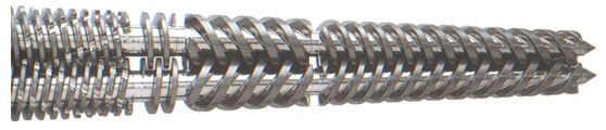 Twin Conical Screw